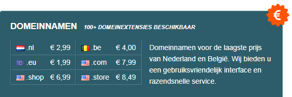 Domeinnaam registreren
